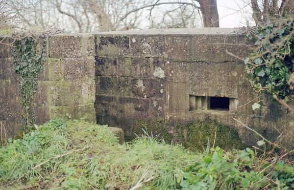Suffolk Square Pillbox (rear)